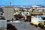 A walking tour to Astana in Soviet times: Tselinograd